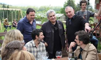 Bernardo Atxaga involved in the filming of